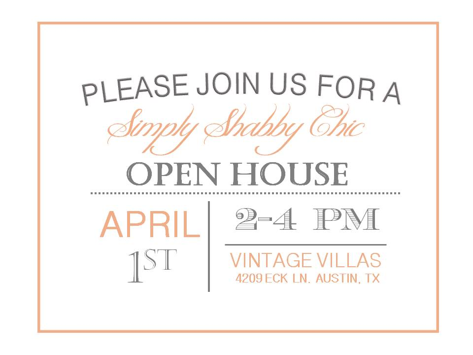 open house invite