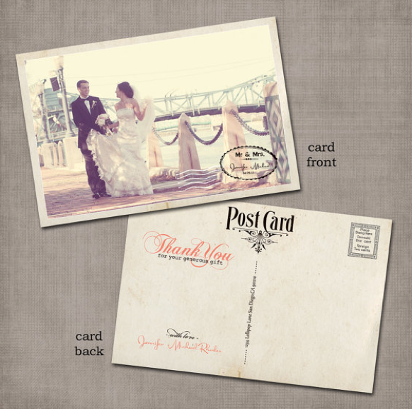Great Wedding Gifts Not On The Registry : Thank You CardsVintage Villas Hotel & Events