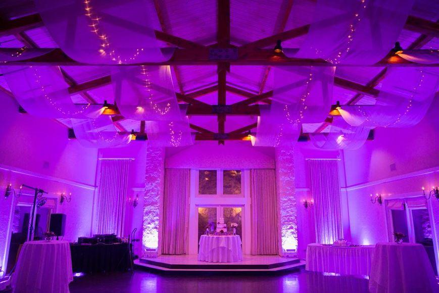 intelligent lighting design vintage villas hotel events
