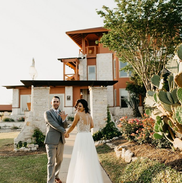 lakeside wedding austin